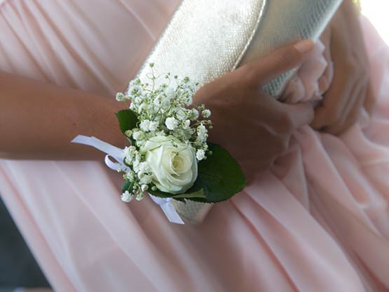 bottoniere corsages matrimonio